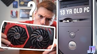 Can You Put a GTX 1070 In a 13 Year Old PC?