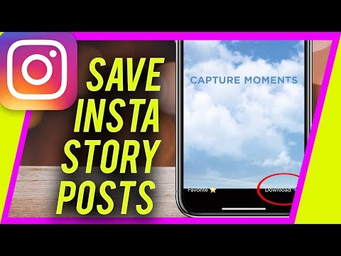 How to save stories from instagram iphone