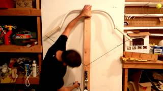 Drawing the Reinforced Manchu Bow to 30 Inches - for a Force-Draw Curve