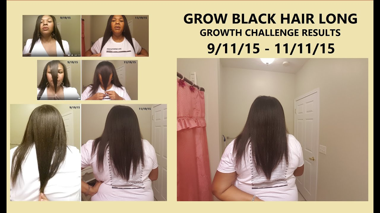 Grow Black Hair Long Fast Anyone Can Grow  8 Week