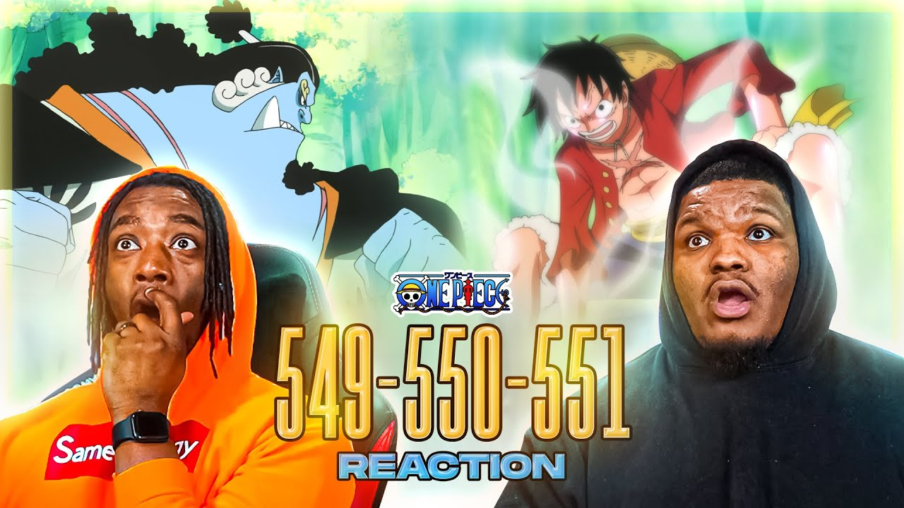 LUFFY VS JIMBEI!? OH SNAP!! OP - Episode 549, 550, 551 | Reaction