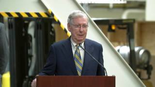 Apple & Corning Press Conference: Remarks from Senate Majority Leader Mitch McConnell