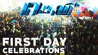 Video Theri 100cr Mass Celebration | crowd response | Ram Cinemas | VJ fans must watch download MP3, 3GP, MP4, WEBM, AVI, FLV Oktober 2018