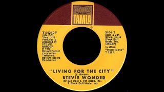 Stevie Wonder ~ Living For The City 1973 Soul Purrfection Version