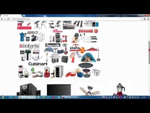 Demo for online shopping cart by Maanasa Technologies