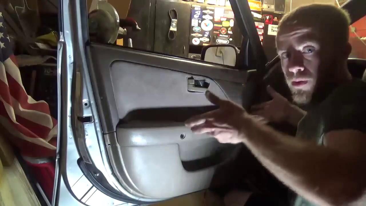Interior Door Handle Replacement 99 Toyota Camry Youtube