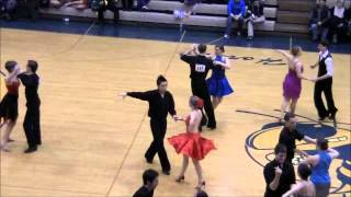Bronze International Latin Cha Cha at the 2012 Michigan Ballroom Dance Competition