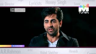 Ayushmann Khurrana describes his journey on World Music Day I MTunes HD