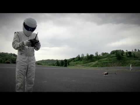 The Stig controls a drone | Top Gear magazine