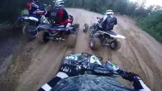 3 ltr 450 trail riding with 1 yzf450