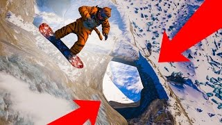 JUMP THROUGH THE GAP?! - STEEP GAMEPLAY