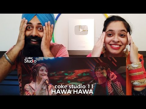 Indian Reaction on Hawa Hawa, Gul Panrra & Hassan Jahangir, Coke Studio Season 11 | PunjabiReel TV