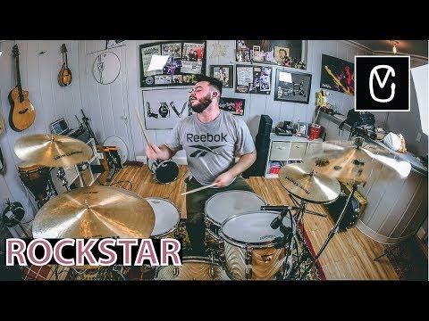 Post Malone X Rockstar Ft. 21 Savage X (Crankdat Remix) - Drum Cover