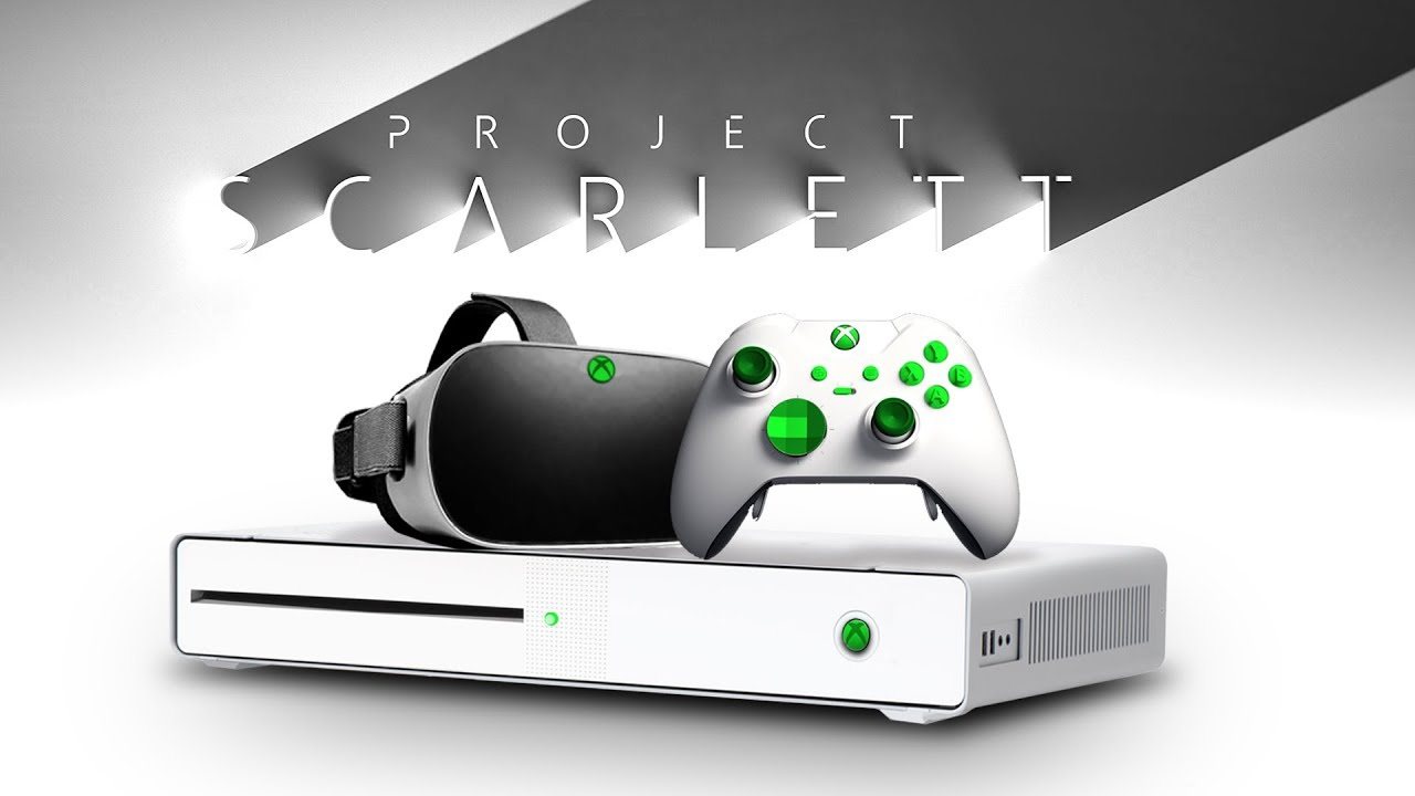Most Powerful Xbox Series X Reveal   Affordable Xbox Lockhart & Anaconda  Scarlet Console - YouTube