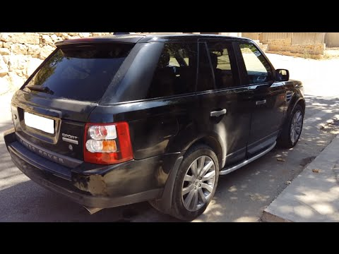 review 2006 range rover sport supercharged v8 full. Black Bedroom Furniture Sets. Home Design Ideas