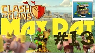 450 Gems! Using Giant Healer Attack Strategy! 1250 Trophies - MAX DAT #13 - Clash of Clans