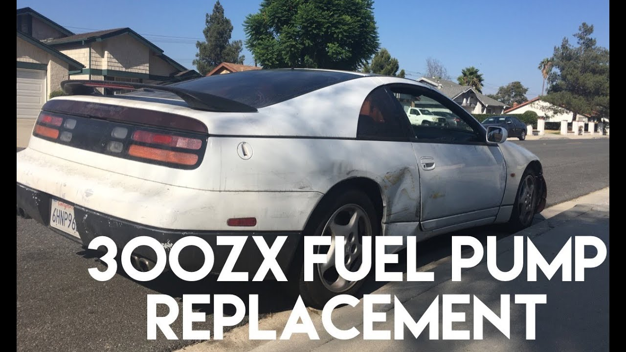 300zx Fuel Pump Replacement Youtube Ptu Wiring Diagram