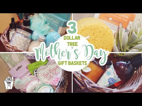 DIY DOLLAR TREE MOTHERS DAY BASKETS! | MOTHERS DAY GIFT IDEAS!