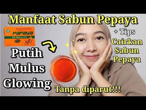 Manfaat Sabun Pepaya Cara Mengencerkan Sabun Pepaya Review Sabun Pepaya Sabun Pemutih Youtube