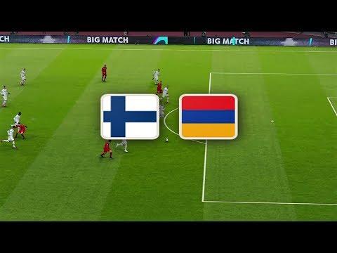 Финляндия - Армения обзор матча сборных