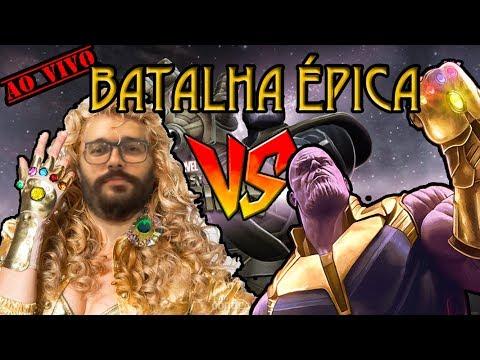 JD vs Thanos NC - Marvel Torneio de Campeões