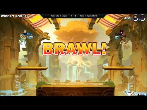 GCEU009 - MaOp [Z]   Logec (Wu Shang) Vs. MaOp   SpiritWolf (Asuri) - Winners Bracket - Brawlhalla