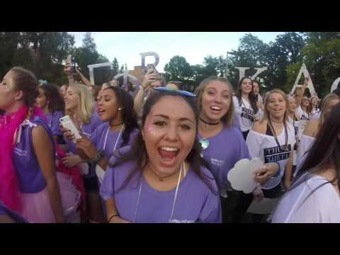 Michigan State Gamma Phi  Beta Bid Day 2016