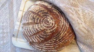 Рецепт теста на тестомесе «Хлеб с 4 злаками».  Тестомес для теста поможет в приготовлении хлеба.