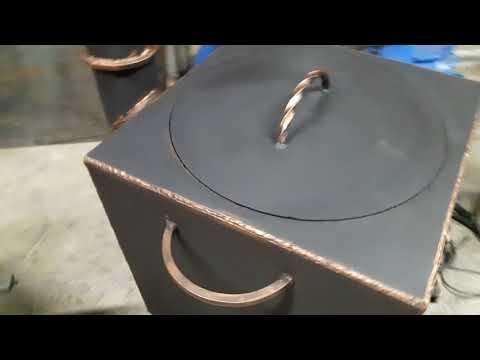 Печь под казан 12 -16 лит. Из стали 4 мм.