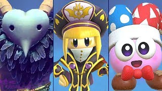 What Will Happen If The Bosses in Kirby Star Allies Join Forces To Battle Kirby? (Glitches)