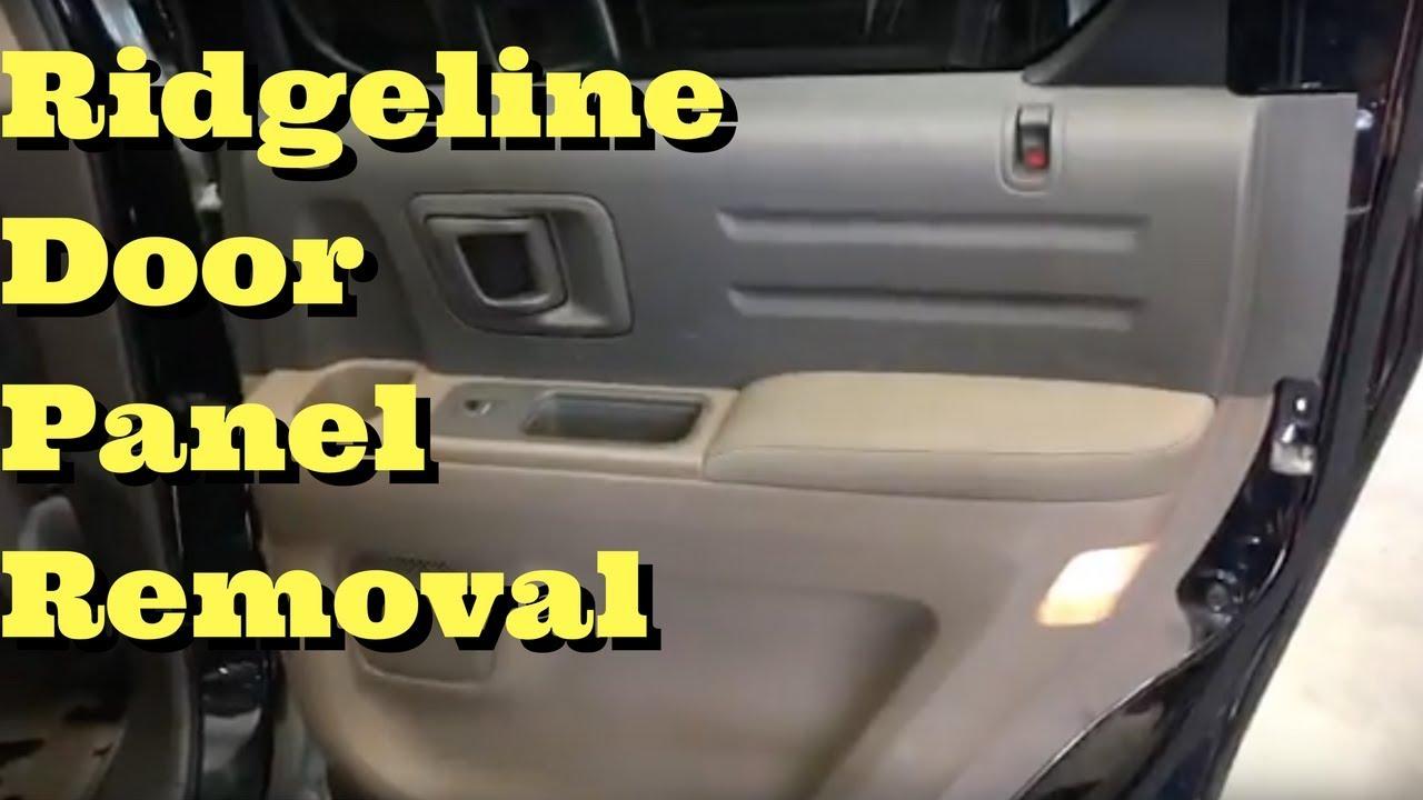 Image Result For Honda Ridgeline Door Panel Removal
