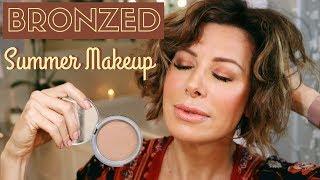 Bronzed Summer Makeup | Dominique Sachse