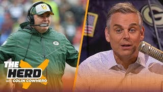 Colin reacts to Cowboys hiring McCarthy, questions Belichick's future with Pats | NFL | THE HERD