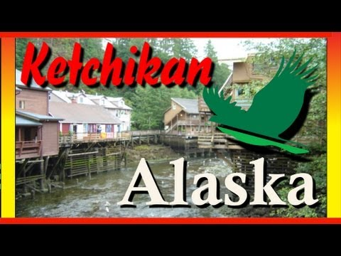 Ketchikan Alaska Cruise Ship Port And Salmon Capital Of The World - Ketchikan Alaska