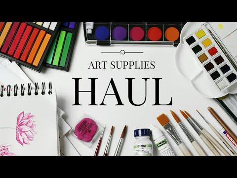 Art Supply Haul!