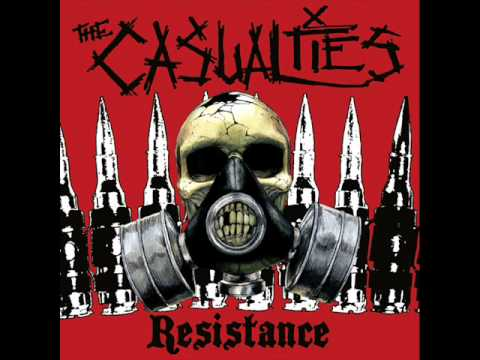 The Casualties - Behind Barbed Wire
