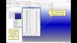 Creo Elements/Direct Cabling: Создание кабельного жгута