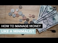 HOW TO MANAGE MONEY LIKE A MINIMALIST | minimal millennials