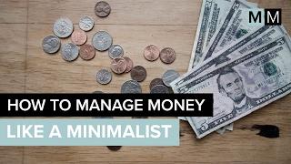 HOW TO MANAGE MONEY LIKE A MINIMALIST | minimal millennials