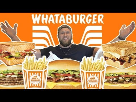 Download Youtube: My First Time Trying WHATABURGER | Ultimate Taste Test