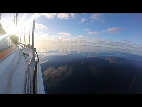 Stuck in the middle of the Atlantic with no wind or engine - Ep33 - The Sailing Frenchman