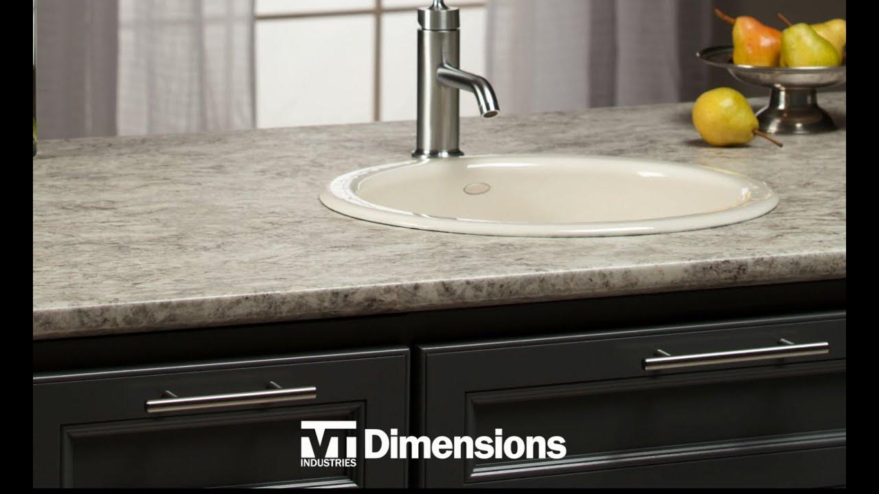 Dimensions Laminate Countertop Vt Industries
