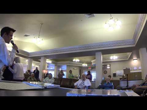 Assisted Living Karaoke - How Sweet It Is - McKinney House - 1 30 15
