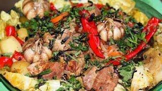 Басма классическая  Узбекская кухня