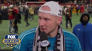 Brad Guzan on winning the 2018 MLS Cup | FOX SOCCER