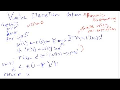 Value Iteration (Dynamic Programming)