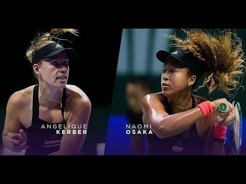 Naomi Osaka vs Angelique Kerber WTA FINALS HIGHLIGHTS 2018