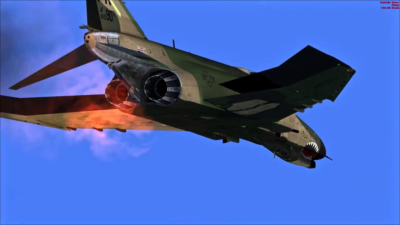 FSX-SE - Learning the MilViz F-4E Phantom II: