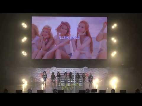 170805 SNSD - Into the New World at Holiday to Remember (Fancam)