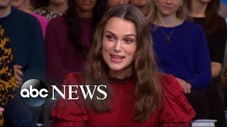 Keira Knightley reveals why she thanks her daughter for her role in 'The Aftermath' l GMA
